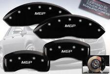 "2007-2011 Lincoln MKZ Front + Rear Black ""MGP"" Brake Disc Caliper Covers 4pc Set"