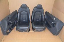 Audi TT 8J Lederausstattung Leder Schwarz Komfortsitze Sitze Leather Seats Black