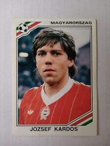 Panini Mexico World cup 86 - Jozsef Kardos Hungary No. 208