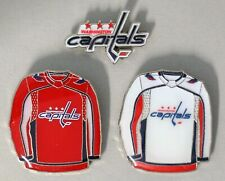 WASHINGTON CAPITALS - SET OF 3 TOP QUALITY NHL LICENSED LAPEL PINS - ALL NEW!