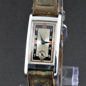 Vintage Noname Art Deco 1930s Wrist Watch - Good condition - Not Working