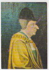CP ART TABLEAU LOUIS XI Le Roi porte le grand collier de l'Ordre de St Michel