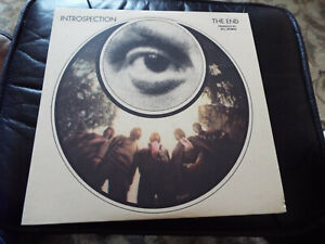 INTROSPECTION THE END VINYL LP SIXTIES PSYCHE ROCK BAND WITH B WYMAN C WATTS