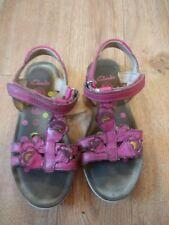 Girls Clarks Sandles size UK 11