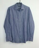 Exchange Platinum Men's Long Sleeve Button Up Striped Shirt Size XXL