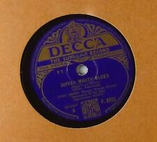 "10"" Schellack - Tony Short (Boogie Woogie Pianist) - Dipper Mouth Blues - A102"