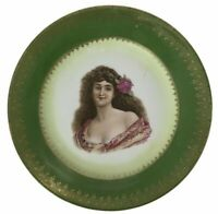 Antique Royal Vienna Portrait Plate Cabinet Plate Beehive Mark Signed by Bonfits