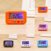 Mini Digital Backlight LED Display Table Alarm Clock Snooze Calendar