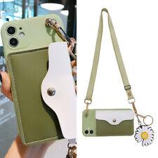 Fashion Crossbody Wallet Purse Pendant Women Girl Case Cover For Various Phone