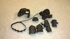 Predators Hot Toys 1/6 scale Noland MMS163 Helmet Armor Belt Lot US Seller