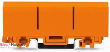 Lot de 6 supports rail DIN pour bornes Wago série 2273 référence 2273500