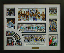 Manchester City 2011 2012 Framed Limited Edition *Stock Clearance Sales* #22