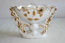 Vase de mariée ancien en porcelaine de Paris H 12 cm