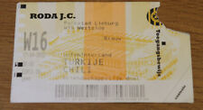 Ticket for collectors * Chile - Turkey 2002 in Kerkrade