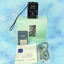Canon PowerShot ELPH SD780 IS 12.1 MP Digital Camera Video USB Memory Card BOX