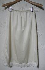 Vintage GREENCO MAID Half Slip Beige Knee Length Medium 6 ~ USA
