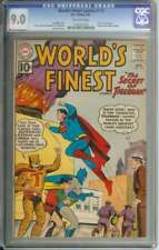 WORLD'S FINEST COMICS #119 CGC 9.0 OW PAGES