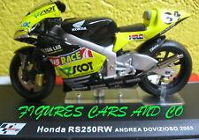 MOTO  GP 1/24 SERIE 2 HONDA RS 250 RW ANDREA DOVIZIOSO 2005