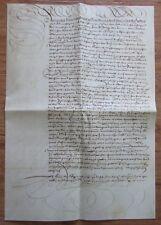 Horner Bundbrief vom 3 Okt. 1608 Faksimile 30x43cm österreichische Geschichte