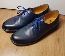 DR MARTENS para hombres zapatos de ojos 1461 Antiguo TEMPERLEY 3-Azul UK12 US13 EU47