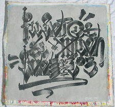CHAZ Bojorquez (Los Angeles 1949) Graffiti Street Art cm 100x110 M/M canvas 2001