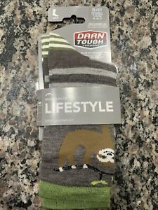Darn Tough Womens Crew Socks Style 6037 Taupe (Size 4.5-7)
