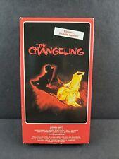 The Changeling VHS Tape HORROR George C Scott Trish Van Devere OOP Cult Movie