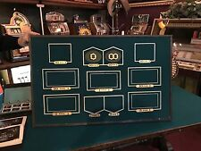 """1920's Gaming Casino Betting Roulette Framed Layout """"Watch Video"""""""