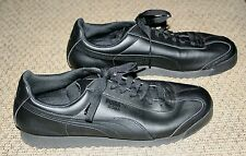 PUMA Roma Shoes Athletic Sneakers Synthetic Black Men's Size 13