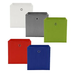 4x Faltbox Aufbewahrungsbox Regalkorb Faltkiste Einschubkorb Spielkiste