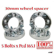 (4x)pcs 5x165.1 5x6.5 30mm Wheel Spacers Adapter Land Rover Defender Discovery