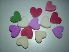 12 X AGAVE LIME # SOY WAX MELT HEARTS # Each up to 10 hrs # MADE IN AUS