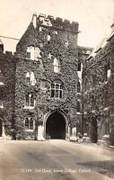 BR69810 exeter college oxford   real photo  uk