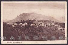 GENOVA TRIBOGNA 03 Frazione CASSANESI Cartolina viaggiata 1936