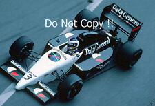 Jonathan Palmer Tyrell DG016 Monaco Grand Prix 1987 Photograph