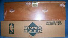 1991-92 UPPER DECK SEALED MASTER BASKETBALL SET IN WOOD GRAIN BOX 1ST UD JORDAN