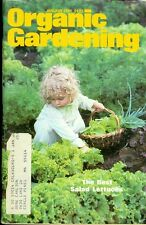 1981 Organic Gardening Magazine: Best Salad Lettuces/Seed Selection