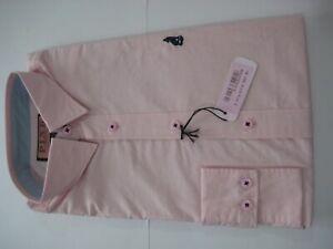 Thomas Pink MEN Casual Shirt- CW LOWE PLAIN PINK X Size XS