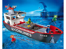 Playmobil 4472 Cargo Ship - mint in box long-retired set from 2006