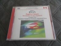 "CD NEUF ""FUGITIVE COLOURS"" Jeffrey RYAN / 8 MORCEAUX"