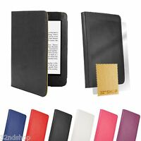 Book wallet PU Leather case cover for Amazon Kindle Paperwhite Screen Protector
