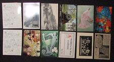 Vintage Mixed LOT of 10 POST CARDS Scenic VG+ to FVF