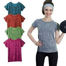 Unbranded Nylon Short Sleeve Basic T-Shirts for Women
