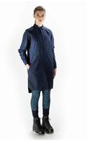 Finisterre - Women's True North Artem Shirt Dress - Size 8 - Navy - RRP $150