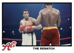 2021 TOPPS MUHAMMAD ALI THE PEOPLE'S CHAMP CARD #71 THE REMATCH