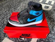 Nike Air Jordan 1 Retro High OG Powder Blue Gym Red NC To Chi UK 6.5 / US 9 WMNS