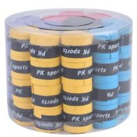60PCS Sweat Absorbent Silicone Anti-Slip Overgrips for Sports Outdoor