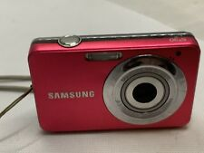 Samsung ST Series ST30 10.1MP Digital Camera - Black And Red