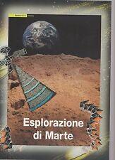 folder postali esplorazione su marte - emesso il 21-09-2005