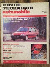 Revue Technique Automobile ROVER Série 100 essence et diesel
